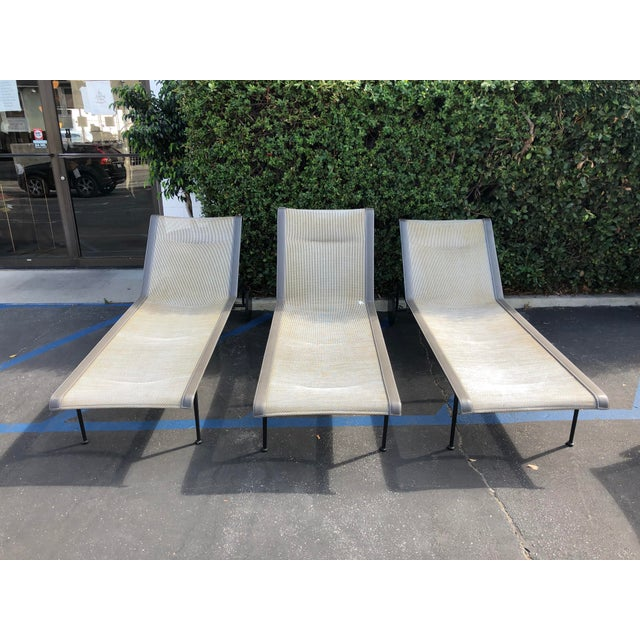 Metal Knoll 1966 Collection Adjustable Chaises - 3 Pieces For Sale - Image 7 of 7