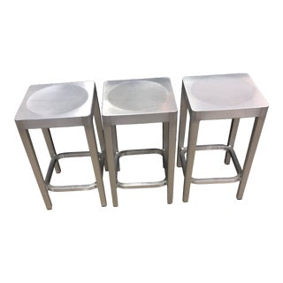 Emeco Counter Stools- Set of 3 For Sale