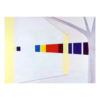 "Laura Newman ""Glass Wall"", Painting For Sale"