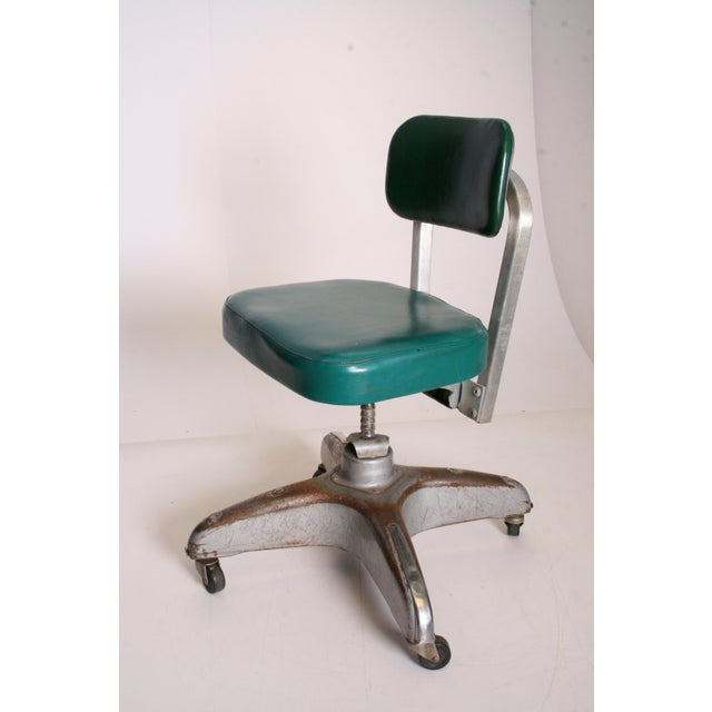 Vintage Industrial Swivel Office Chair by Cole Steel - Image 2 of 11