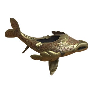 Brass Flying Fish