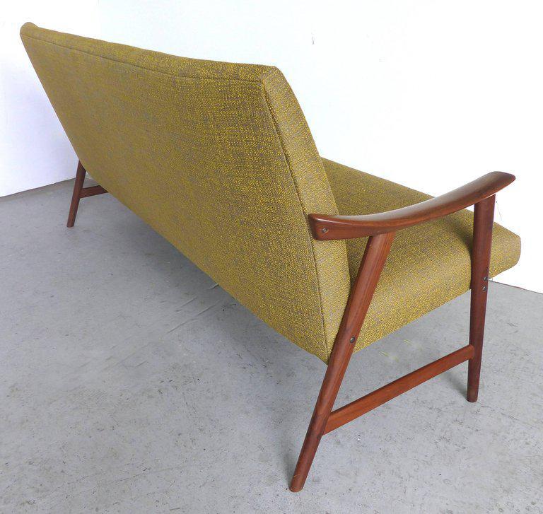 Danish Modern Danish Modern Adolf Relling Dokka Møbler Teak Sofa For Sale    Image 3 Of