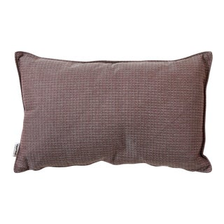Cane-Line Link Scatter Cushion, Rectangle, Light Bordeaux For Sale