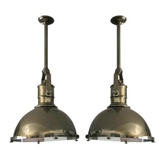 Visual Comfort Pendant Lights - A Pair For Sale