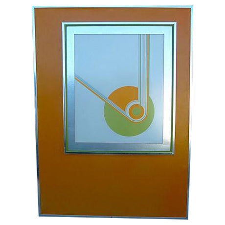 """Cathexis"" Serigraph by Konopisos, Edition 38/58 - Image 1 of 8"