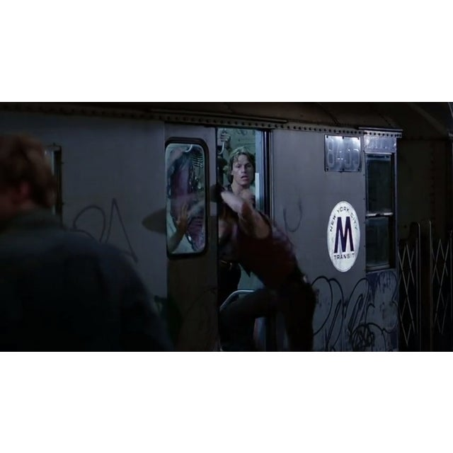 Enamel NYC Subway Plate from The Warriors Movie - Image 3 of 8