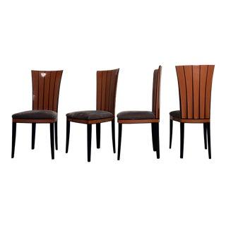 1980s Eliel Saarinen Cranbrook Dining Chairs - Set of 4