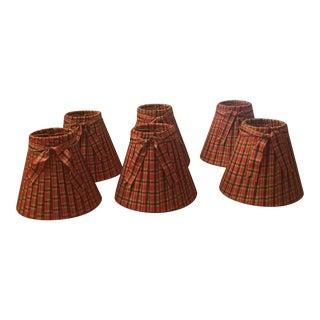 Custom Made Ribbon Lampshades - Set of 6