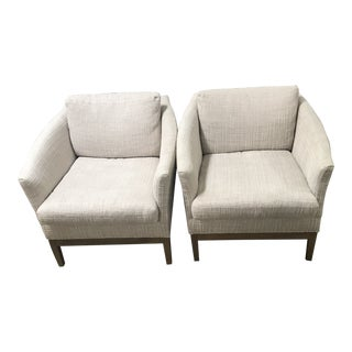 Lee Industries Upholstered Chairs- A Pair For Sale