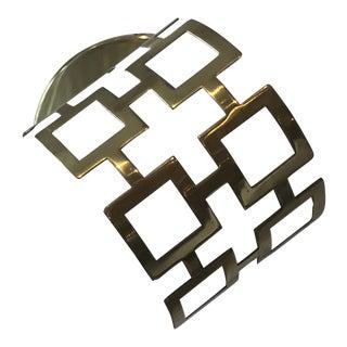 Adjustable Square Design Wall Sconce For Sale
