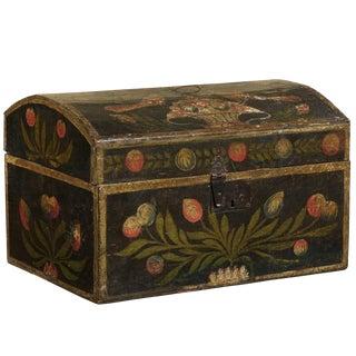 19th Century Wedding Box With Flowers