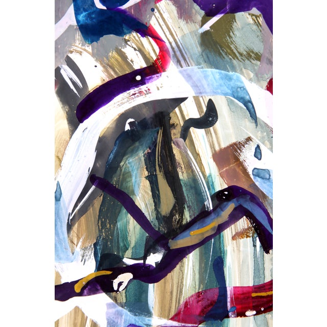 Abstract Development 1959 Painting - Image 2 of 3