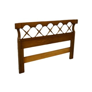 Late 20th Century Thomasville Furniture Palladian Hall Collection Queen Size Headboard Preview