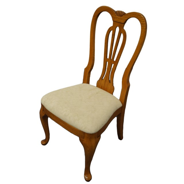 "PENNSYLVANIA HOUSE Solid Oak Country French Dining Side Chair 40"" High 21.25"" Wide 25"" Deep Seat: 19"" High We specialize..."