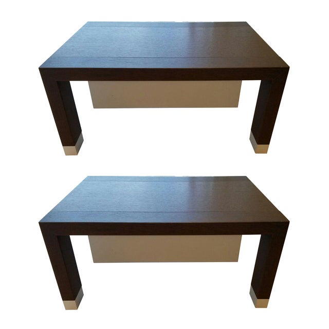Ligne Roset Lumeo Nightstands - A Pair For Sale