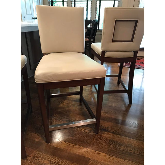 American Classical American Classical Vanguard Juliet Counter Stools - Set of 3 For Sale - Image 3 of 8