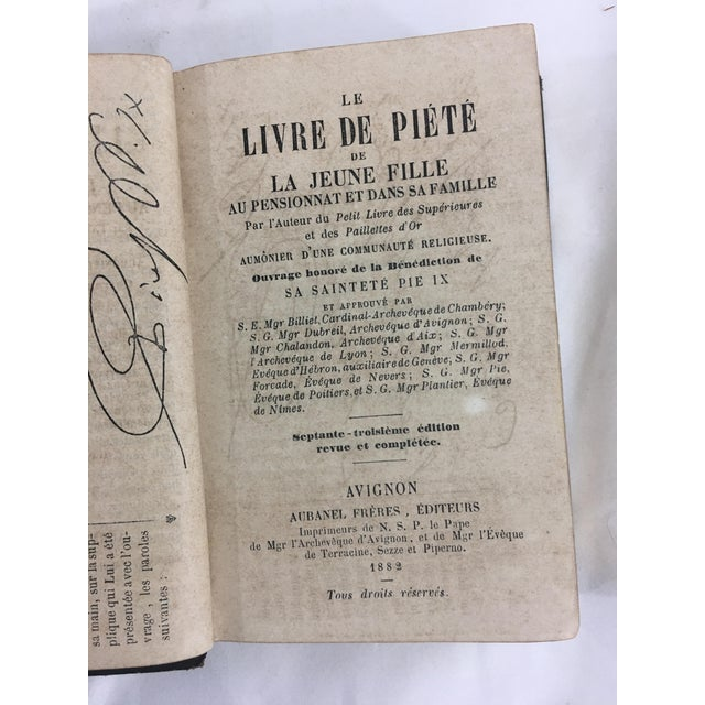 Early 19th Century 19th Century French Psalms Books - Set of 2 For Sale - Image 5 of 6