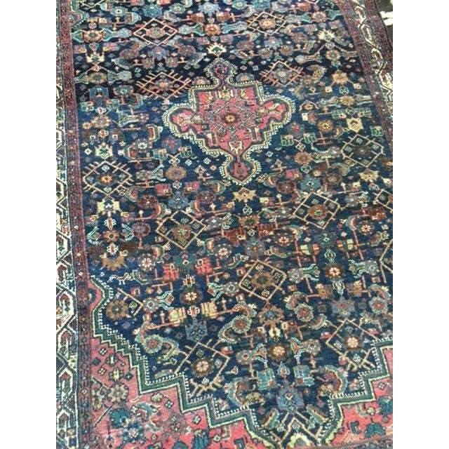"""Antique Persian Rug - 4'1"""" x 6'10"""" - Image 8 of 8"""