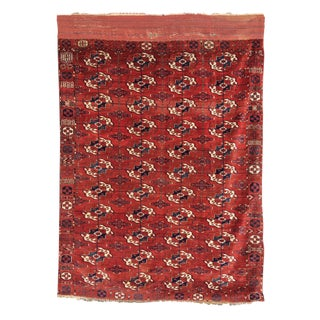 Red Tekke Main Carpet - 6′11″ × 9′2″
