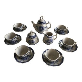 Miniature Child's China Tea Set - Service for 6