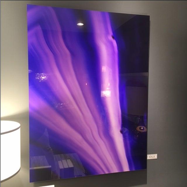 Purple Gemstone on Lex Diptych - Image 3 of 4
