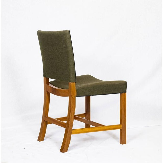 Set of Ten Kaare Klint Dining Chairs For Sale In Los Angeles - Image 6 of 10