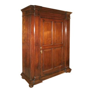 Late 18th Century English Oak Cabinet For Sale