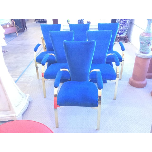 Thayer Coggin Thayer Coggin Mid-Century Modern Chairs - Set of 6 For Sale - Image 4 of 4
