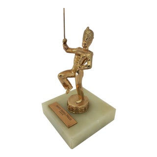 1950s Vintage Band Conductor Trophy For Sale