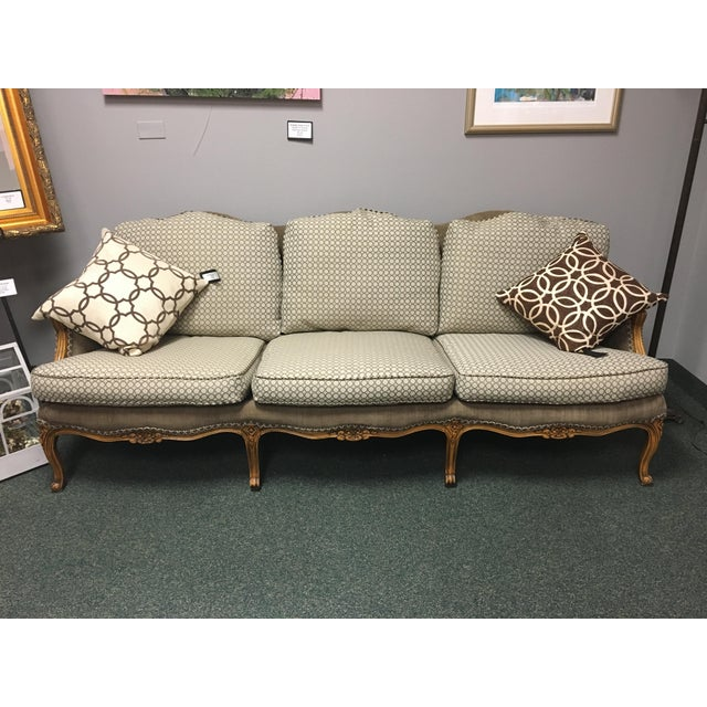 Baker Furniture French Country Sofa - Image 6 of 10