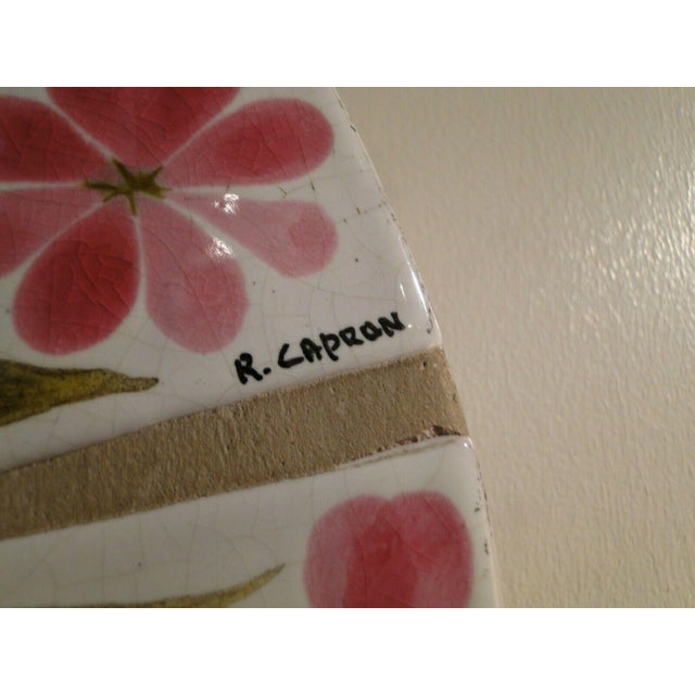 1960s Roger Capron Round Mirror For Sale - Image 6 of 7