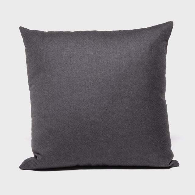 Asian Japanese Suiting Throw Pillow For Sale - Image 3 of 6