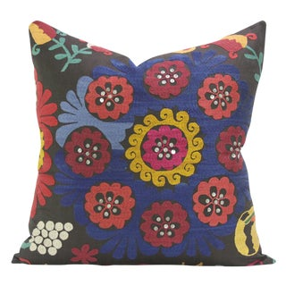 Aisha Suzani Square Pillow