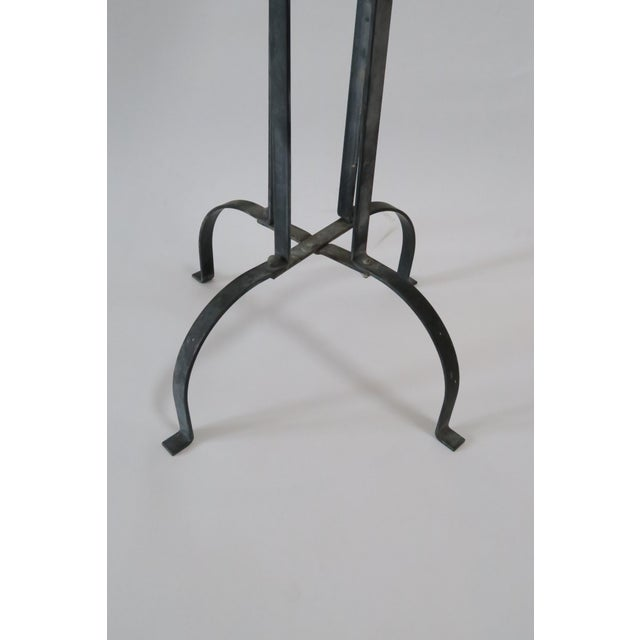 Vintage Wood & Metal Plant Stand - Image 6 of 6