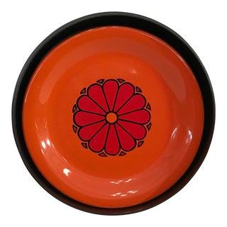 Orange Lacquer Coasters - Set of 6
