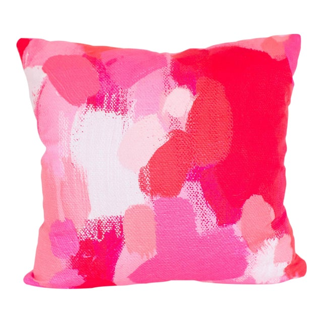 Millie Brushstroke Pillow - Image 1 of 4