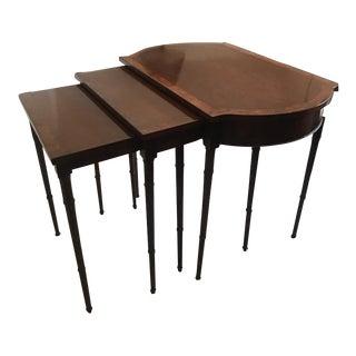 Baker Nesting Tables - Set of 3 For Sale