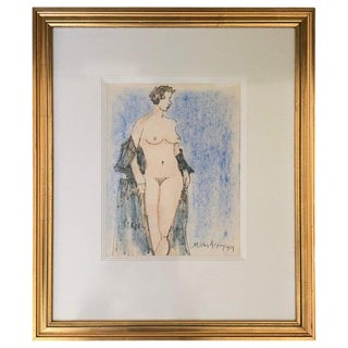 Milton Avery Nude Drawing For Sale
