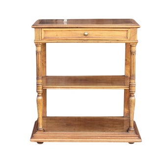 19th Century French Walnut Etagere For Sale