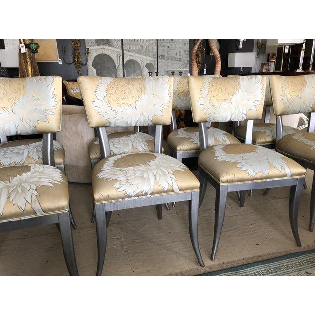 Custom Klismos Dining Chairs - Set of 8 For Sale In Philadelphia - Image 6 of 12