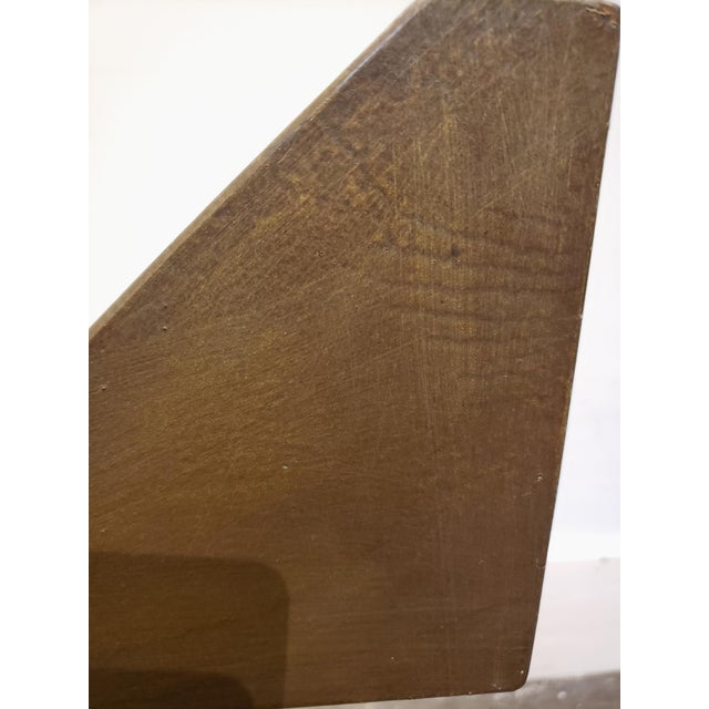 Brutalist Memphis Era Dining Table by Pucci De Rossi For Sale In Dallas - Image 6 of 7