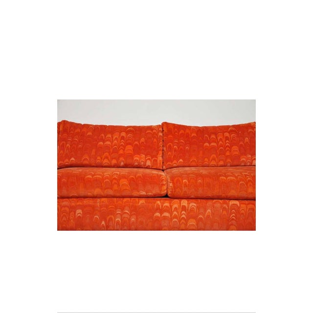 Textile Metropolitan 3 Pc. Sectional Sofa in Jack Lenor Larsen Velvet For Sale - Image 7 of 10