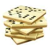 Image of English Domino Coasters - Set of 6 For Sale