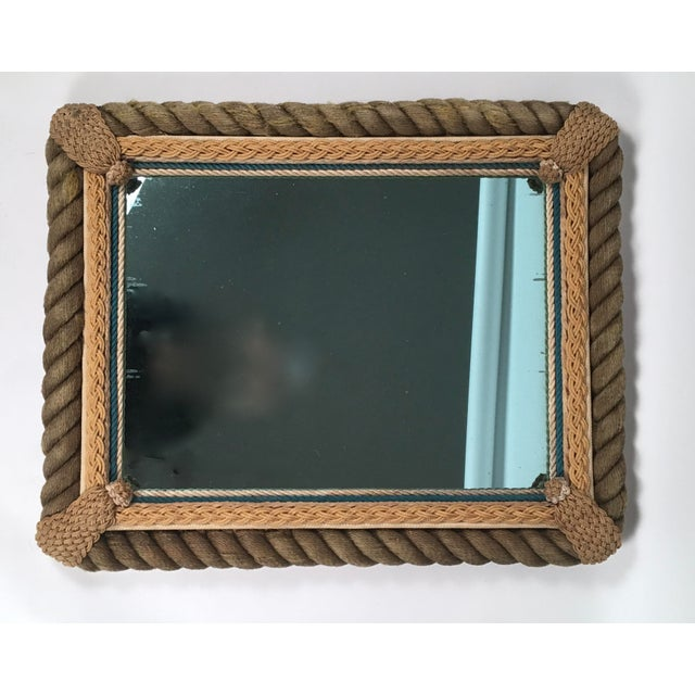 Sailor Made Nautical Ropework Mirror For Sale In Boston - Image 6 of 12