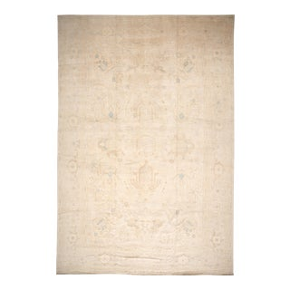 21st Century Contemporary Oushak Rug 12 X 18 For Sale