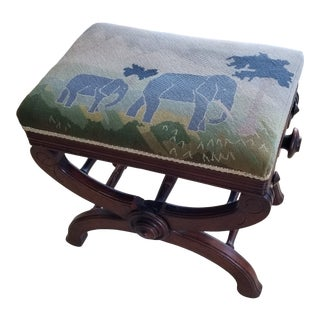 19th Century Victorian Piano Bench - Stool For Sale