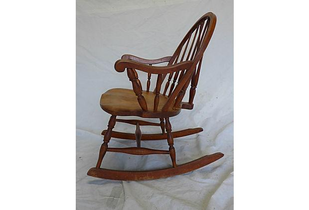 Country Country Style Rocking Chair For Sale   Image 3 Of 6