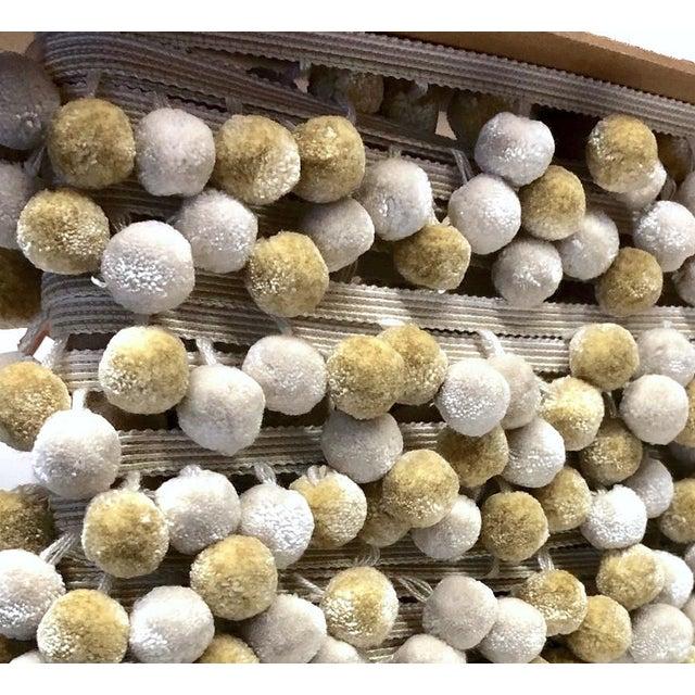 Pompom Tassel Fringe - 6.75 Yds For Sale In Charlotte - Image 6 of 6