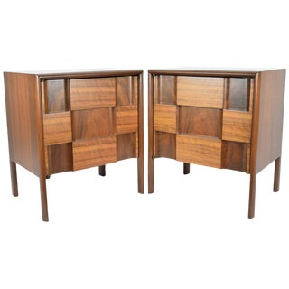 Edmond Spence Nightstands Made in Sweden - a Pair For Sale