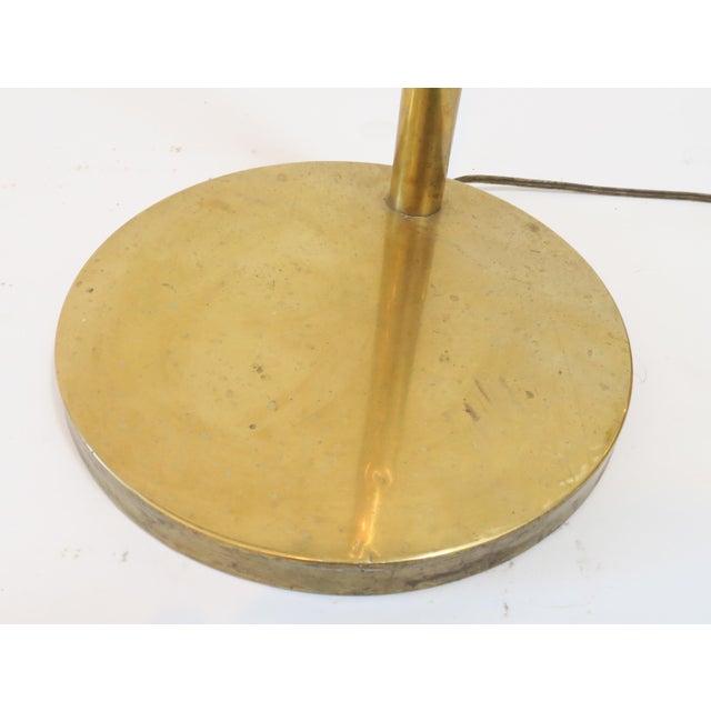 Modern Brass Floor Reading Lamp - Image 5 of 6